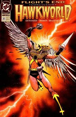 Hawkworld (Comic Book) #32