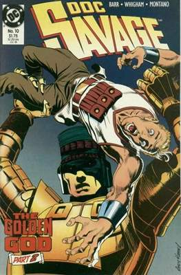 Doc Savage Vol 2 (1988-1990) (Comic-book.) #10