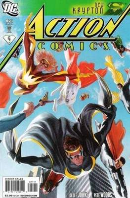 Action Comics Vol. 1 (1938-2011; 2016-) (Comic Book) #871