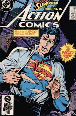 Action Comics Vol. 1 (1938-2011; 2016-) (Comic Book) #564