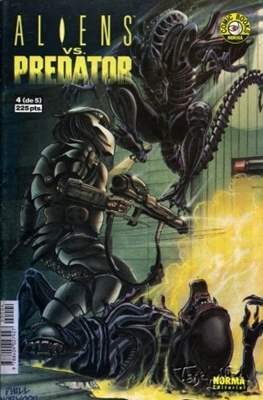 Aliens vs. Predator (Grapa 36 pp) #4