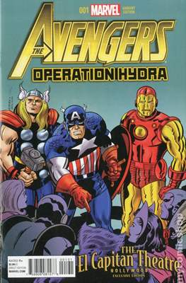 The Avengers: Operation Hydra (Variant Cover) (Comic Book) #1.1