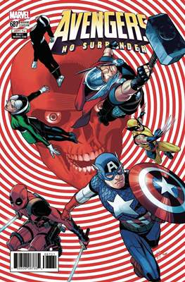 The Avengers Vol. 7 (2016-...Variant Covers ) (Grapa) #687