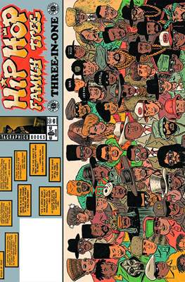 Hip Hop Family Tree. Three-in-One. Free Comic Book Day 2015