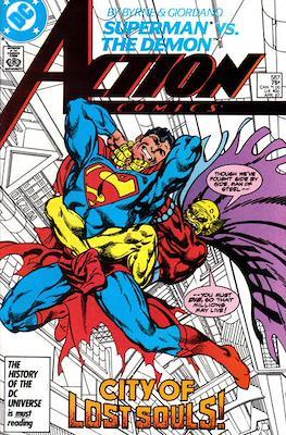 Action Comics Vol. 1 (1938-2011; 2016-) (Comic Book) #587