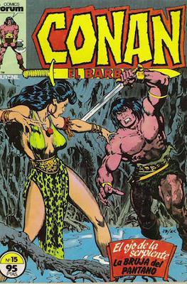 Conan el Bárbaro (1983-1994) (Grapa. 19x27. 36/32/24 páginas. Color.) #15