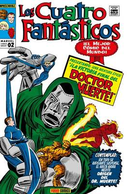 Los Cuatro Fantásticos. Marvel Gold (Omnigold) (Cartoné) #2