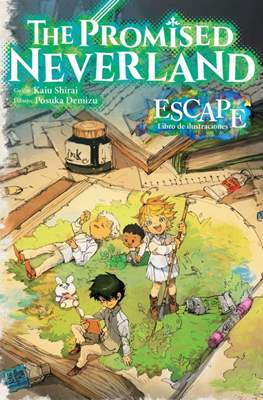 The Promised Neverland: Escape - Libro de ilustraciones