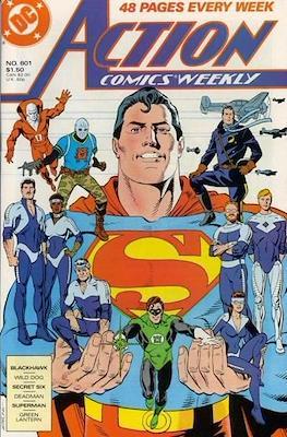 Action Comics Vol. 1 (1938-2011; 2016-) (Comic Book) #601