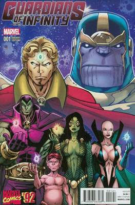 Guardians of Infinity (Variant Cover) (Comic Book) #1.2