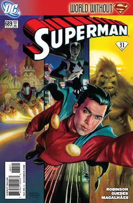 Superman Vol. 1 / Adventures of Superman Vol. 1 (1939-2011) (Comic Book) #689
