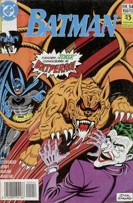Batman (1987-1993) (Grapa) #54