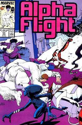 Alpha Flight vol. 1 (1983-1994) (Comic Book) #54