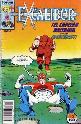 Excalibur Vol. 1 (1989-1995) (Grapa) #3