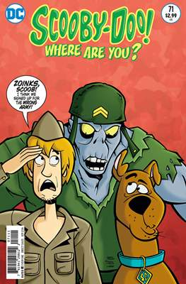 Scooby-Doo! Where Are You? (Comic Book) #71