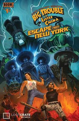 Big Trouble in Little China Escape from New York (Grapa) #1.2