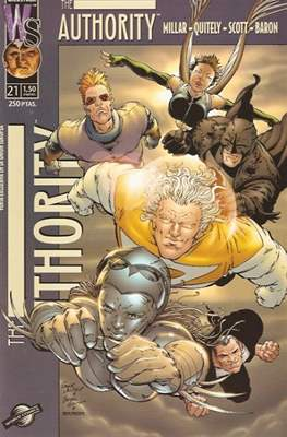 The Authority Vol. 1 (2000-2003) (Grapa 28 pp) #21