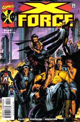 X-Force Vol. 1 (1991-2002) (Comic Book) #105