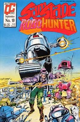 Sam Slade Robo-Hunter #10