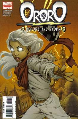 Ororo: Before The Storm (Comic Book) #1
