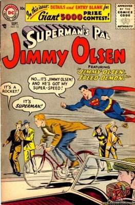Superman's Pal, Jimmy Olsen / The Superman Family (Comic Book) #15