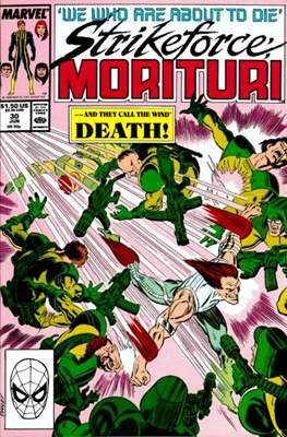Strikeforce Morituri (Comic-book.) #30