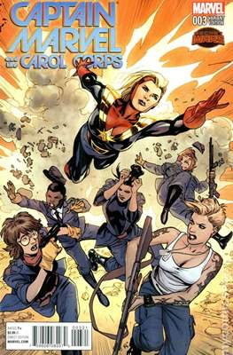 Captain Marvel and the Carol Corps (Variant Cover) (Comic Book) #3