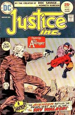 Justice inc. Vol 1 (Comic Book. 1975) #2