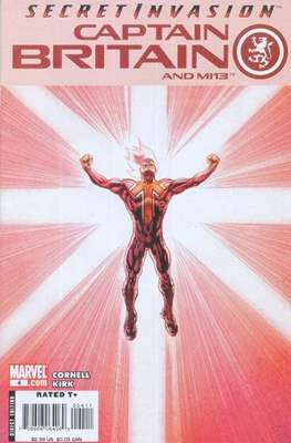Captain Britain and MI13 (Grapa) #4