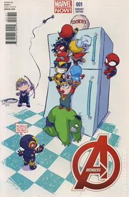 Avengers Vol. 5 (2013-2015 Variant Covers) #1.6