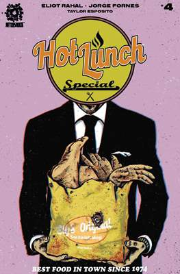 Hot Lunch Special (Comic Book) #4