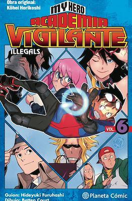 My Hero Academia: Vigilante Illegals (Rústica con sobrecubierta) #6