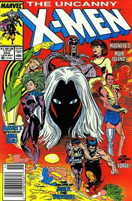 The Uncanny X-Men (1963-2011) (Comic-Book) #253