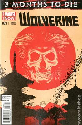 Wolverine (2014 Variant Cover) (Comic Book) #9
