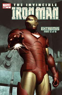 The Invincible Iron Man Extremis (Grapa) #2
