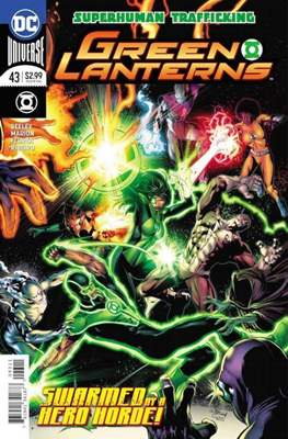 Green Lanterns Vol. 1 (2016-2018) (Comic-book) #43