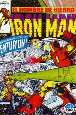 Iron Man Vol. 1 / Marvel Two-in-One: Iron Man & Capitán Marvel (1985-1991) (Grapa, 36-64 pp) #3
