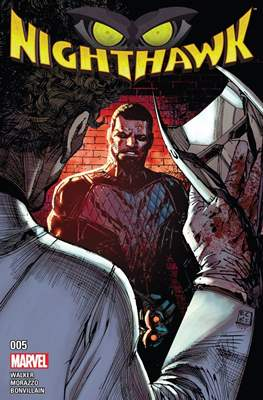 Nighthawk Vol. 2 (Comic-book) #5
