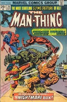 The Man-Thing Vol. 1 (1974-1975) (Comic Book) #20