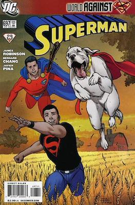 Superman Vol. 1 / Adventures of Superman Vol. 1 (1939-2011) (Comic Book) #697