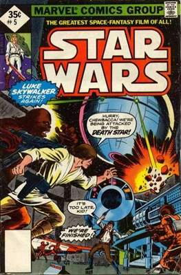 Star Wars (1977-1986) (Grapa) #5