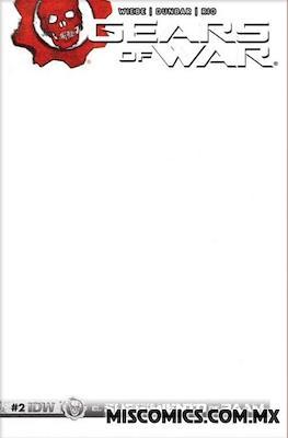 Gears of War (Portada Variante) #2.2