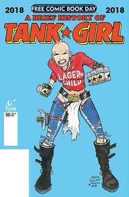 A Brief Story of Tank Girl - Free Comic Book Day 2018