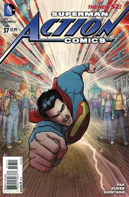 Action Comics Vol. 2 (2011-2016) (Grapa) #37