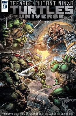 Teenage Mutant Ninja Turtles Universe (Comic Book) #16