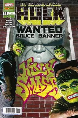 El Increíble Hulk Vol. 2 / Indestructible Hulk / El Alucinante Hulk / El Inmortal Hulk (2012-) (Comic Book) #93/18