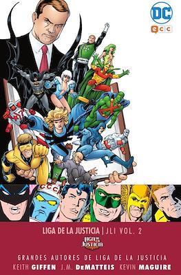 Grandes Autores de Liga de la Justicia: Keith Giffen, J.M. Dematteis y Kevin Maguire - JLI #2