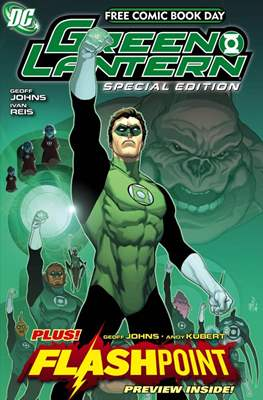 Free Comic Book Day 2011 (Green Lantern)
