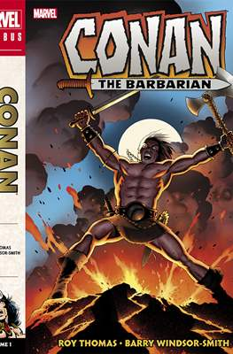 Conan The Barbarian: The Original Marvel Years (Hardcover 720-856-824 pp) #1