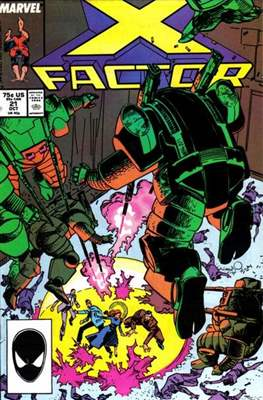 X-Factor Vol. 1 (1986-1998) (Comic Book) #21
